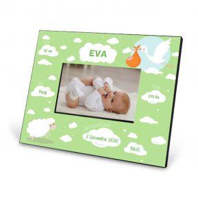 Cadre de naissance personnalisé pour bébé