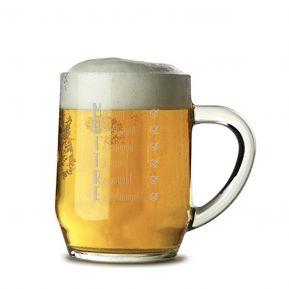 Chope de bière Les qualités du Maître