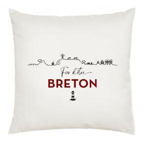 Coussin Fier d'être Breton