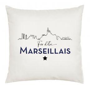 Coussin Fier d'être Marseillais
