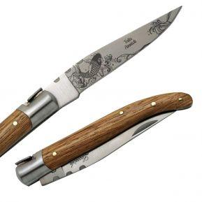Couteau Laguiole gravé - Japon