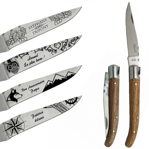 Couteau Laguiole motif