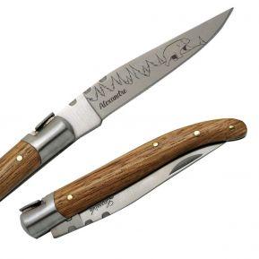 Couteau Laguiole personnalisé Wildlife