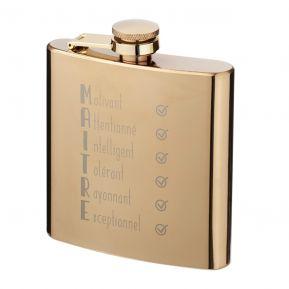Flasque dorée Les qualités du Maître