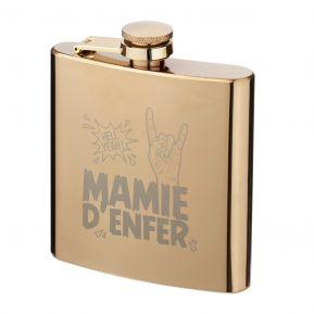 Flasque dorée Mamie d'enfer