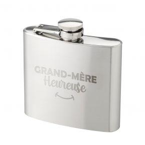 Flasque Grand-mère heureuse