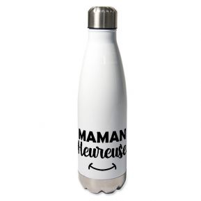 Gourde isotherme Maman Heureuse