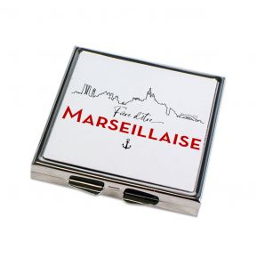 Miroir de poche Fier d'être Marseillais