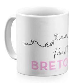 Mug Fier d'être Breton