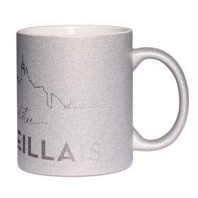 Mug à paillettes Fier d'être Marseillais