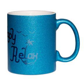 Mug à paillettes Papy relax