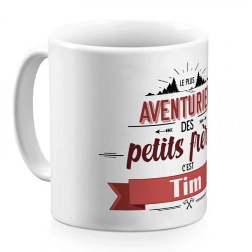 Mug personnalisé Explorateur