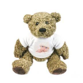 Peluche Teddy Bear personnalisée photo