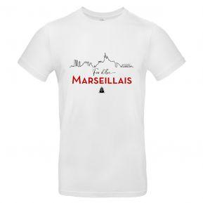T-shirt Fier d'être Marseillais