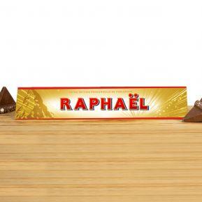 Toblerone personnalisé Papa - 360 g Chocolat au Lait