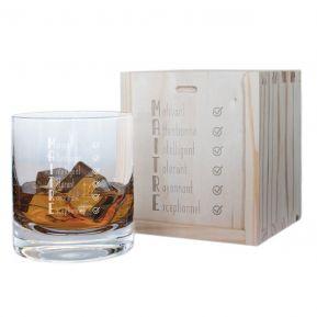 Verre à whisky Les qualités du Maître