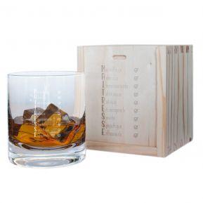 Verre à whisky Les qualités de la Maîtresse
