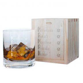 Verre à whisky Les qualités de Maman