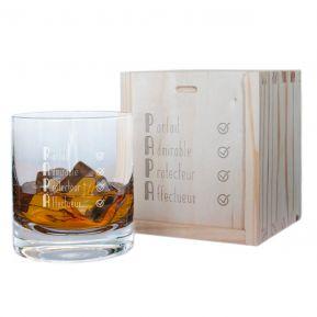 Verre à whisky Les qualités de Papa