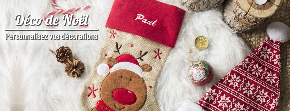 Déco de Noël personnalisée