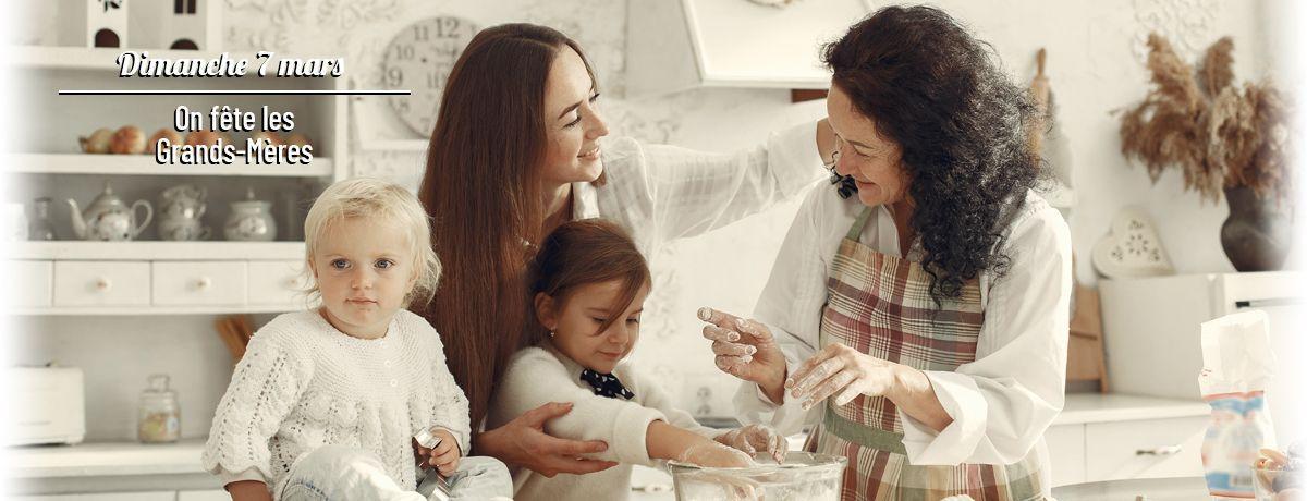 Fête des Grands-Mère - Dimanche 7 mars 2021